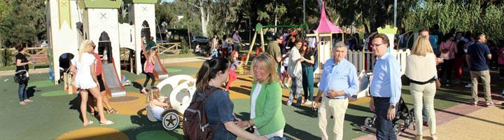 Marbella inaugura el parque público de Los Naranjos