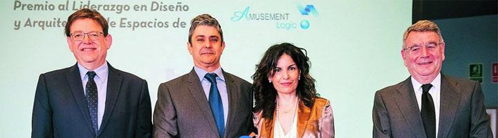 Amusement Logic galardonada con el premio La Razón al liderazgo en diseño y arquitectura de Espacios de Ocio