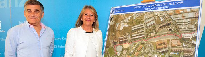 Marbella saca a licitación pública la transformación de Arroyo Primero en un gran parque urbano