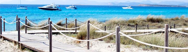 El Gobierno autoriza obras por 2,2 millones para reparar pasarelas de madera en Menorca, Ibiza y Formentera