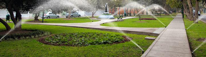 Control y máxima eficiencia, buscando la sostenibilidad en los sistemas de riego urbano