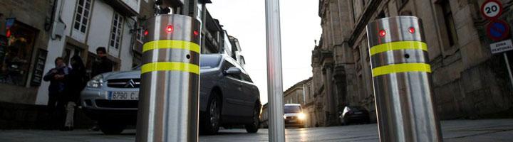 Vigo sustituirá los bolardos del casco antiguo por un sistema de control de acceso por lectura de matrículas