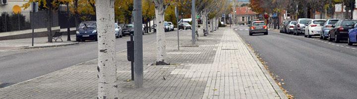 Comienzan los trabajos de remodelación de la Avenida Calatalifa, una de las arterias principales de Villaviciosa de Odón