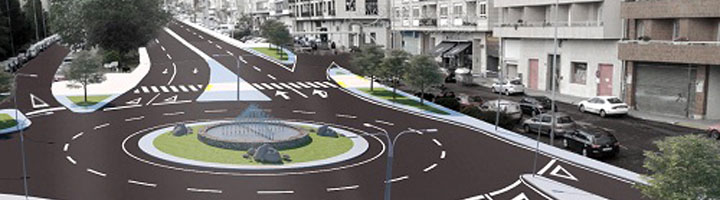 La Xunta invertirá 2,2 millones de euros para reformar la entrada a Ourense por la calle Otero Pedraio