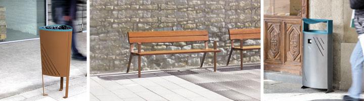 Decópolis, distribuidor en Baleares de la gama de mobiliario urbano de NOVATILU