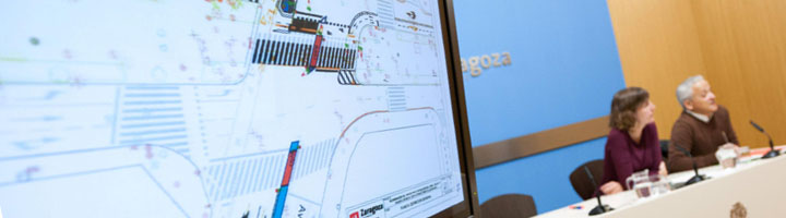 Zaragoza dará comienzo a la segunda fase del carril bici de Sagasta