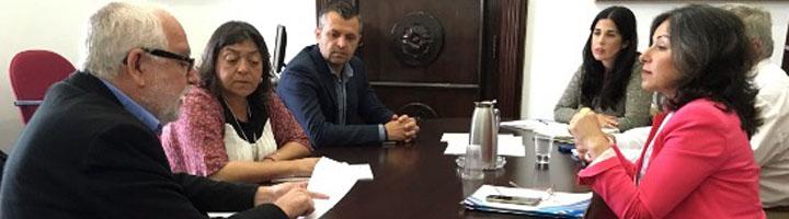 La Diputación de Cádiz y Conil exploran vías de colaboración en materia de movilidad sostenible