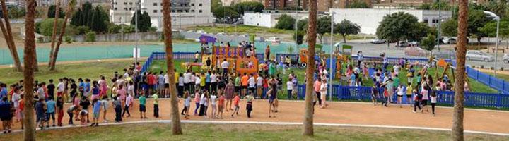 Málaga impulsa la segunda fase del parque de San Rafael
