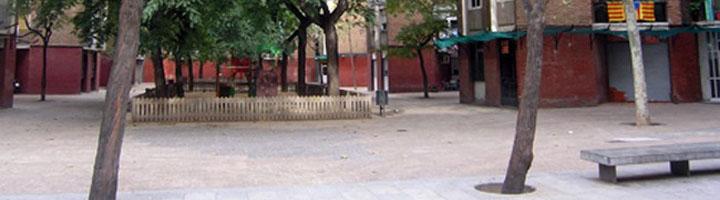 La plaza del Llagut, en la Barceloneta, estrenará imagen a finales de año