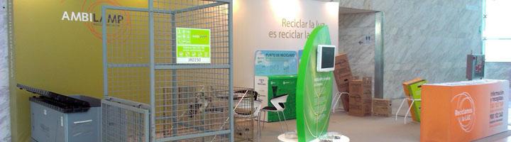 AMBILAMP muestra sus soluciones para el reciclaje de lámparas y luminarias en CONAMA