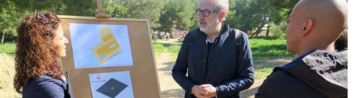 Lérida contará con el primer Street WorkOut de la ciudad en el parque de Santa Cecilia