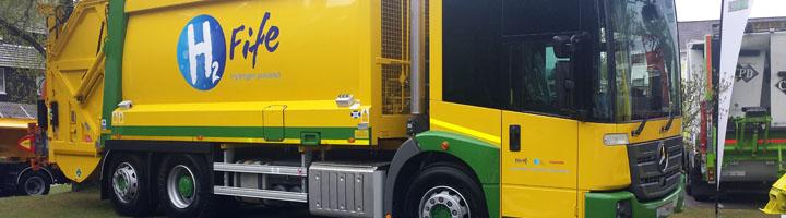 Los primeros vehículos Dual Fuel del mundo de recogida de residuos utilizan transmisiones Allison