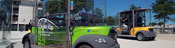 León presenta el proyecto europeo de vehículos eléctricos autónomos, CityMobil2