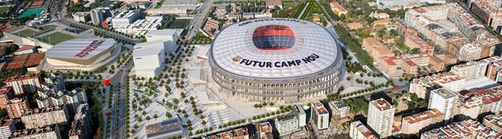 Luz verde a la urbanización de las calles y zonas verdes del entorno del Camp Nou