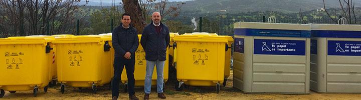 La Mancomunidad de Servicios de la Vega comienza con el servicio de recogida selectiva de residuos en El Castillo de Las Guardas