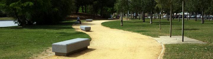 Jerez inicia las obras de mejora de caminos, mobiliario urbano y del lago del Parque de la Plata