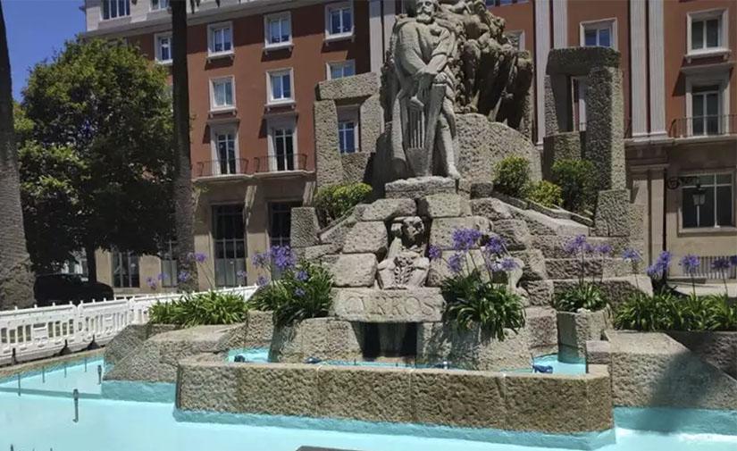 A Coruña renueva sus fuentes ornamentales