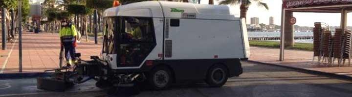 San Pedro del Pinatar aprueba el contrato la gestión de limpieza viaria a FCC por 9,88 millones de euros