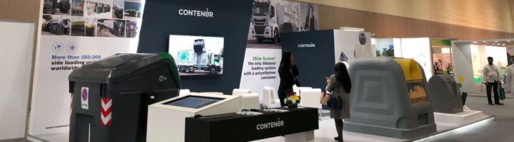CONTENUR, protagonista destacado en la Feria ECOWASTE 2018 de Abu Dhabi