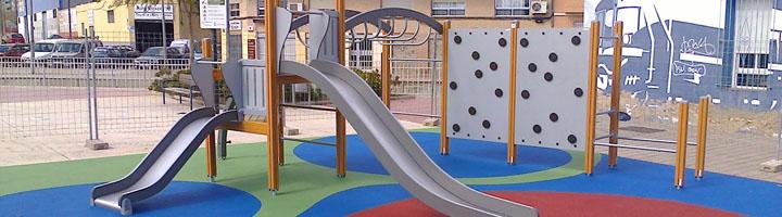 San Vicente del Raspeig ha instalado el 80% de los juegos infantiles de las 22 zonas previstos