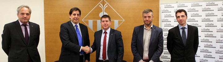Sabadell firma un convenio con La Salle para impulsar un programa de smart city