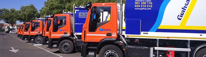Fraikin entrega 12 camiones de recogida de residuos a Giahsa
