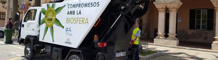 Menorca pone en marcha una prueba piloto de recogida de vidrio puerta a puerta en los establecimientos de Ciudadela