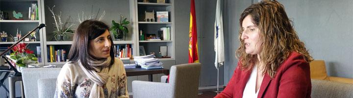 La Xunta de Galicia analiza con el Ayuntamiento de Narón la implantación de la recogida de materia orgánica en el municipio