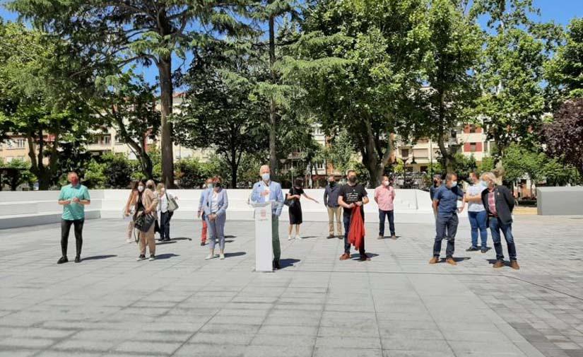 Abierta la ampliación del Parque de Gallarza, un espacio polivalente para la participación activa de Logroño