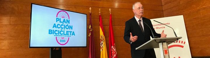 Murcia presenta el Plan de Acción de la Bicicleta 2017-2019 que contempla 20 kilómetros más de carriles bici