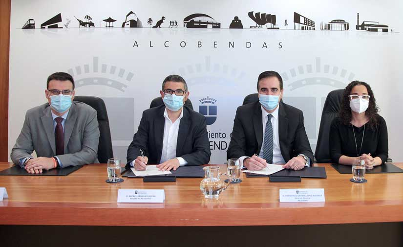 ACCIONA y Alcobendas amplían el contrato de limpieza del municipio para mejorar el servicio