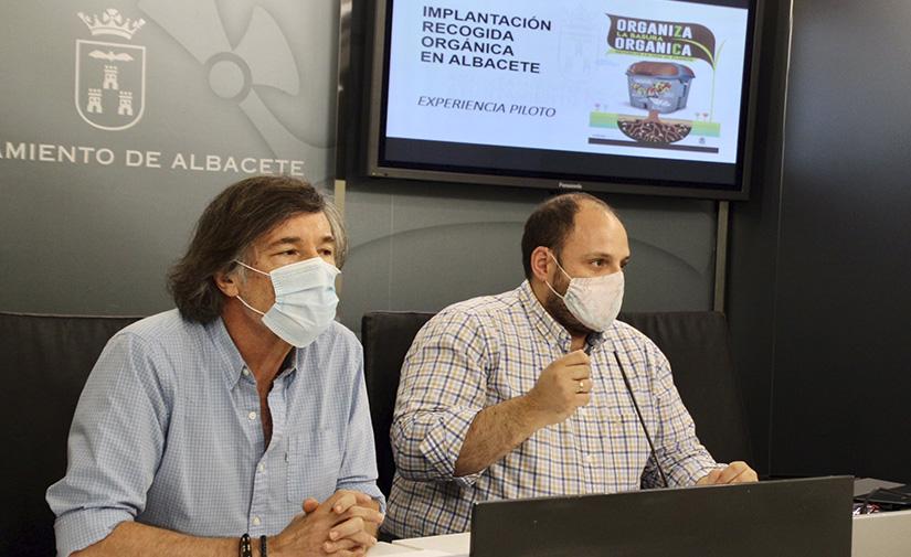 Albacete pone en marcha una prueba piloto de recogida de residuos orgánicos en cuatro barrios de la ciudad