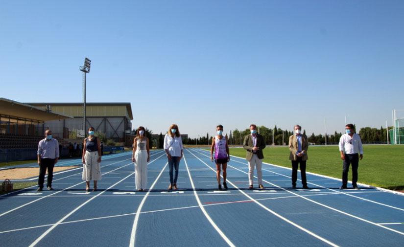 Albacete reabre las pistas de atletismo tras la renovación del pavimento con una inversión de 613.000 euros