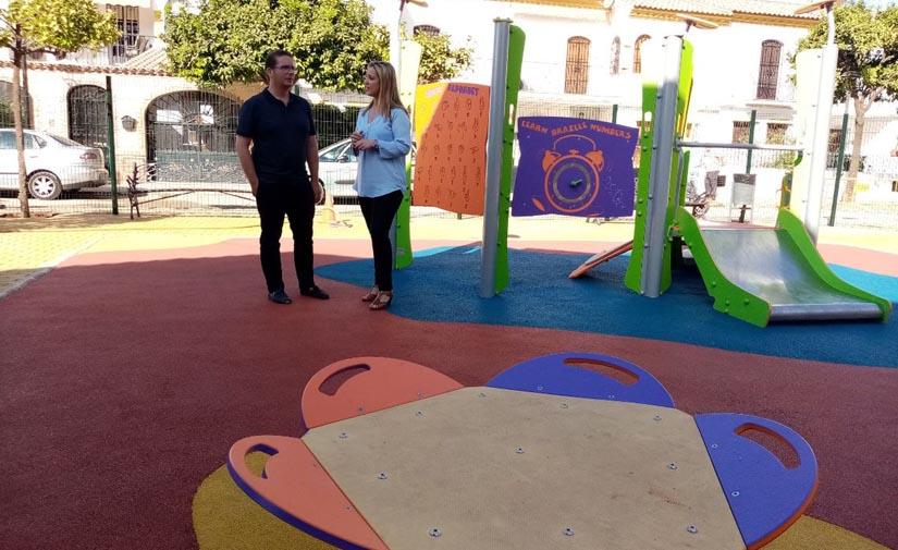 Alcalá de Guadaíra finaliza el proyecto de adecuación de cuatro importantes áreas de juegos infantiles