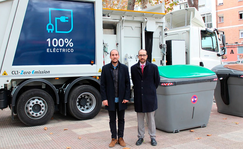 Alcalá de Henares ya cuenta con uno de los primeros recolectores eléctricos de España
