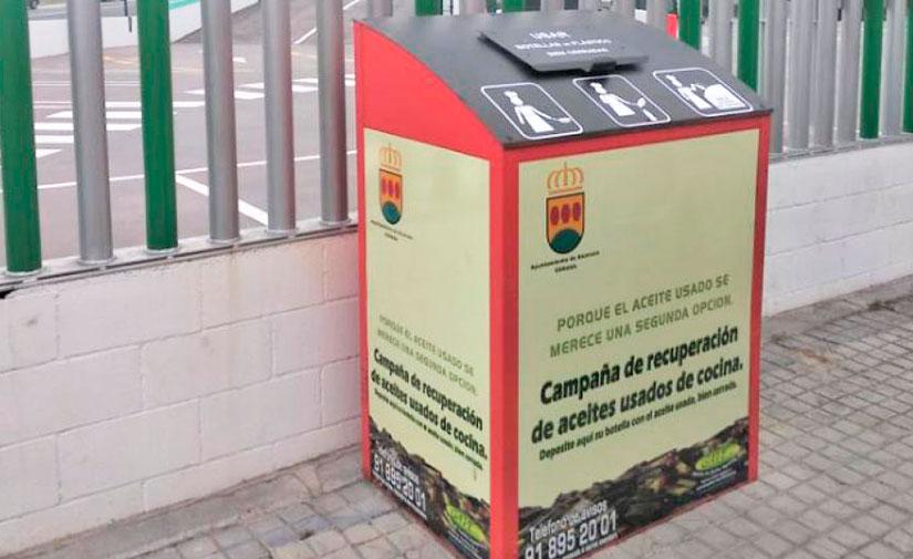 Alcorcón instala nuevos contenedores para la recogida del aceite vegetal usado
