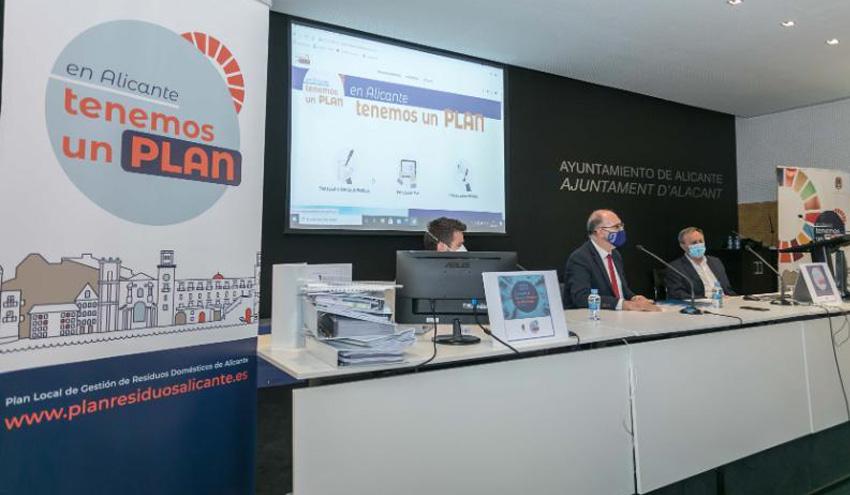 Alicante refuerza la recogida selectiva y la concienciación cívica en su nuevo Plan de Residuos