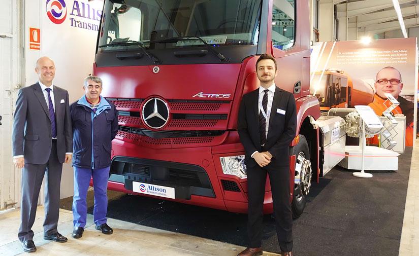 Allison Transmission equipa el nuevo Actros NGT con motor de gas natural de Mercedes-Benz