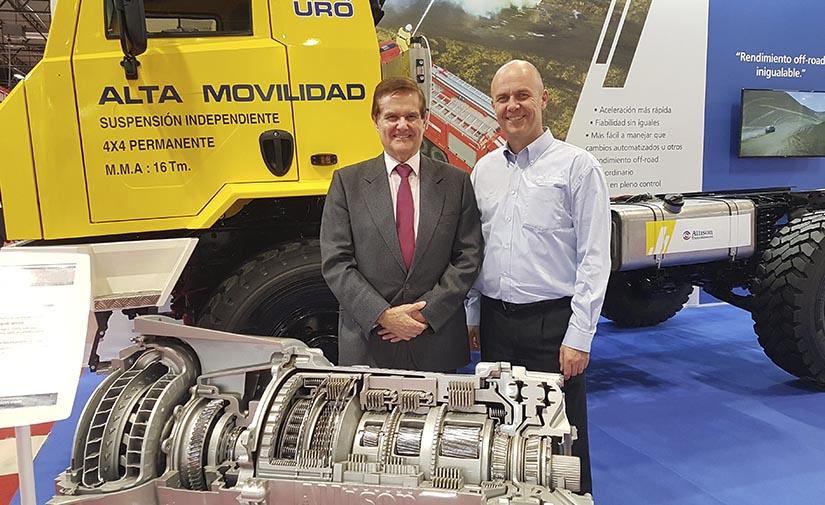 Allison Transmission presenta en SICUR 2020 el vehículo de UROVESA para extinción de incendios K6 IS