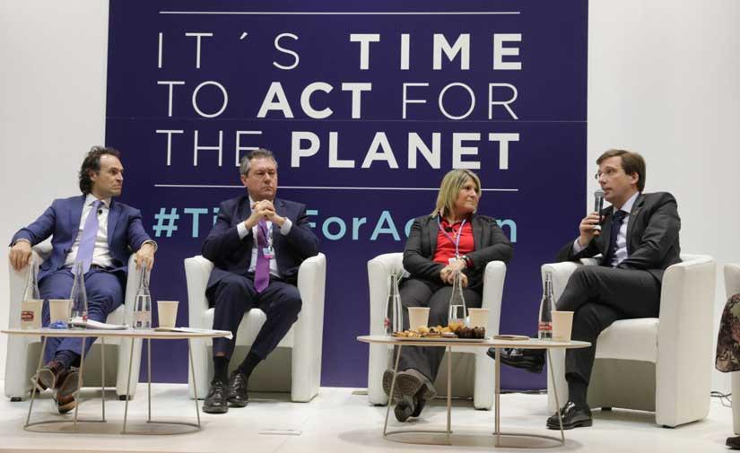 """Almeida destaca que """"son las ciudades las que deben liderar la lucha contra el cambio climático"""""""