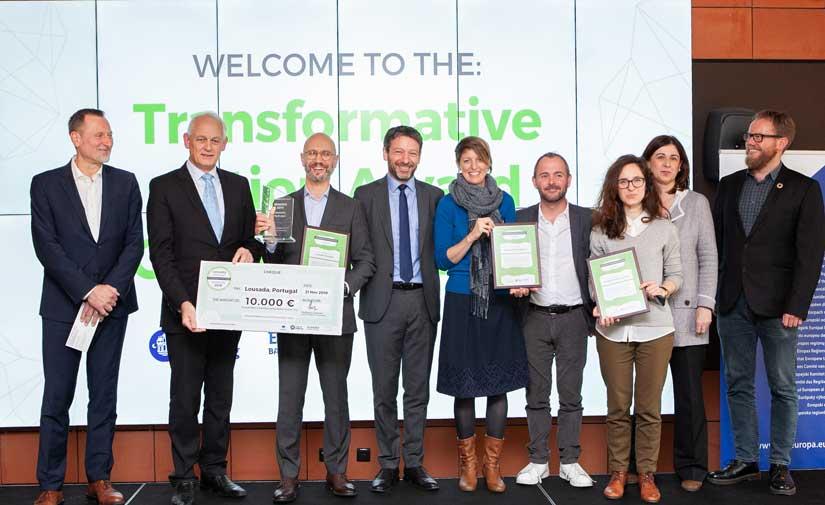 Alsómocsolád, Katowice y Loures finalistas del Premio Acción Transformadora 2020