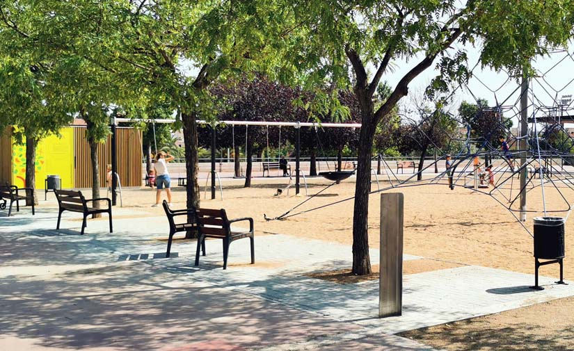 El AMB finaliza las obras en el parque de la Muntanyeta