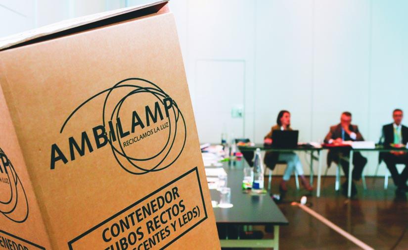 Ambilamp firma un acuerdo con Navantia para gestionar sus residuos de RAEE