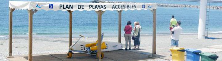 Nuevos servicios e infraestructuras en las playas de Adra gracias a una inversión superior a 150.000 euros