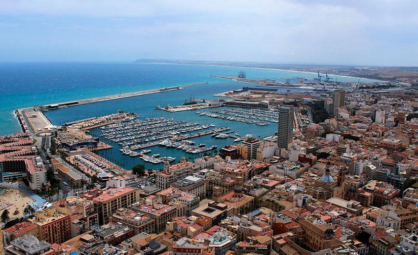 Aprobada la contratación de las mejoras del alumbrado en cinco barrios de Alicante
