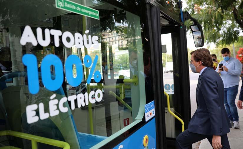Arranca la nueva línea de autobuses eléctricos que circunvala el distrito de Centro de Madrid
