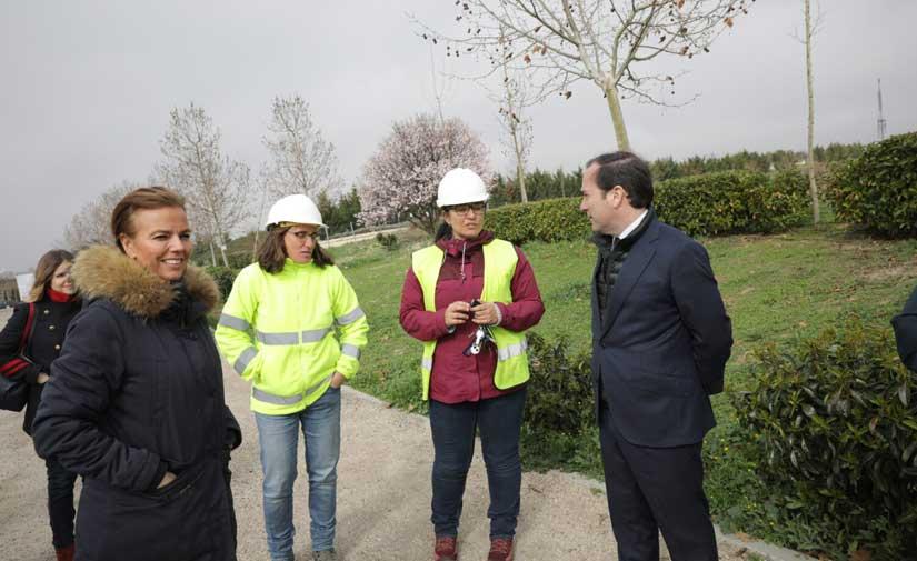 Arranca la quinta fase de ampliación del parque de la Cuña Verde de O´Donnell de Madrid