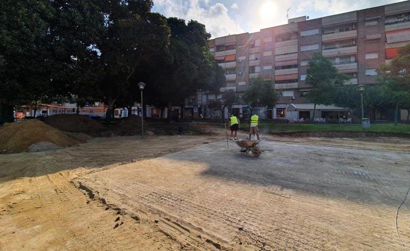 Arrancan en Murcia las obras del jardín Pintor Pedro Flores