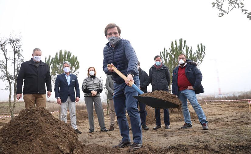 Arrancan las obras del parque Central de Valdebebas