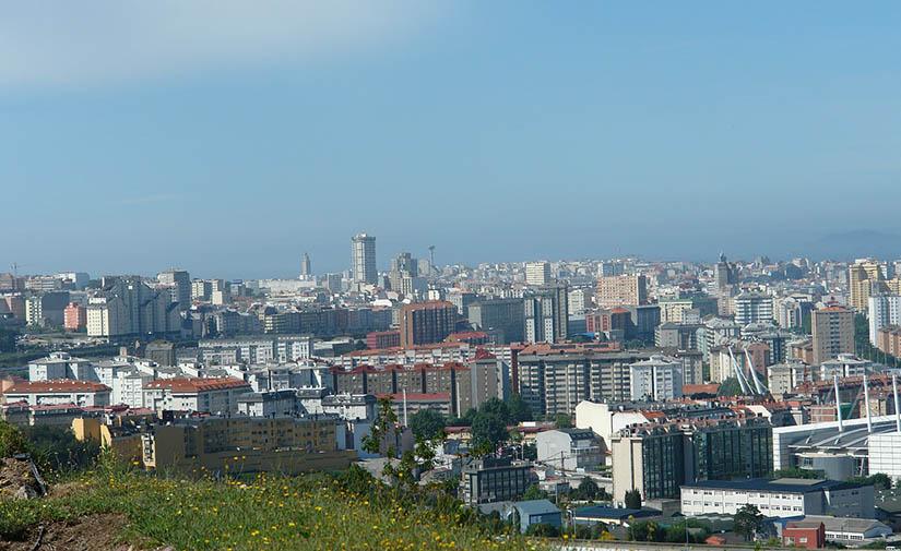 Arrancan los trabajos de mejora del parque infantil de los Rosales en A Coruña